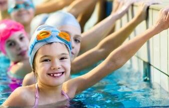 Úszás gyerekeknek Újbudán a Castor SE-ben